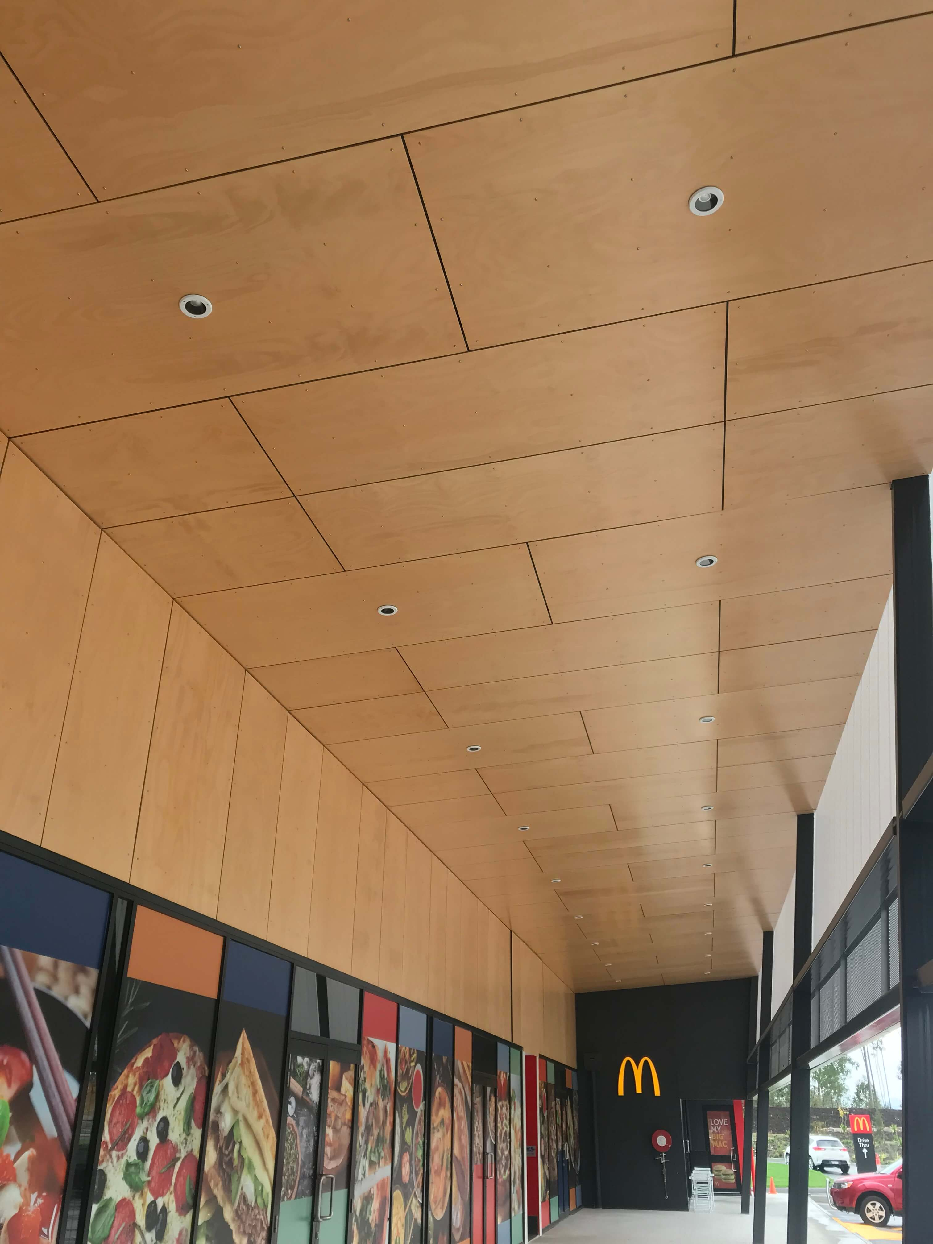 Appearance Grade Hoop Pine Plywood 9 5mm Used For A Soffit
