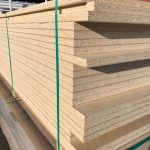 Raw Particle Board used for substrates