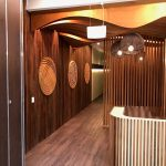 Gaboon Hardwood Plywood feature panels