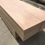 Gaboon Hardwood Plywood used for Scaffold Planks